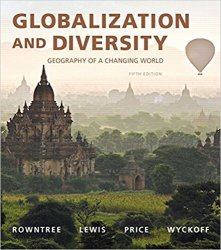 Globalization and Diversity: Geography of a Changing World, 5th Edition