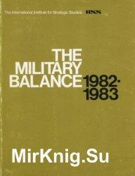 The Military Balance 1982-1983