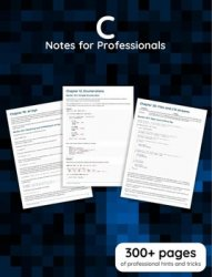 C Notes for Professionals