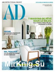 AD Architectural Digest France - Juillet/Aout 2018