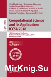 Computational Science and Its Applications - ICCSA 2018, Part 5