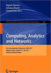 Computing, Analytics and Networks: First International Conference, ICAN 2017