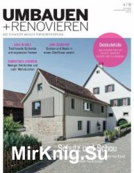 Umbauen + Renovieren - Juli/August 2018