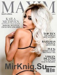 Maxim South Africa - Special Travel Edition