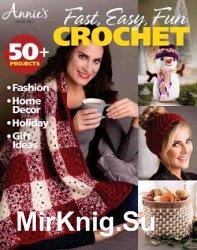 Annie's Fast, Easy, Fun Crochet - Fall 2018