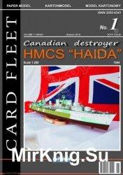 Канадский эсминец HMCS Haida 1944г. [Neptunia]