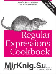 Regular Expressions Cookbook, Second Edition