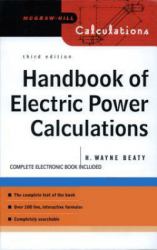 Handbook of Electric Power Calculations, Third Edition