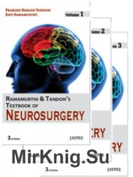 Ramamurthi And Tandon's Textbook of Neurosurgery (3 volumes set) 3rd Edition