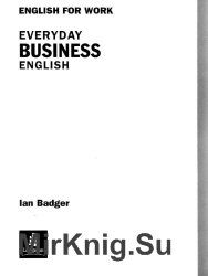 English for work: Everyday Business English