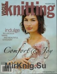 Vogue Knitting International Holiday 2003