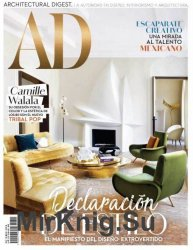Architectural Digest Mexico - Octubre 2018