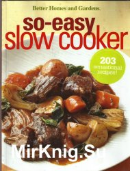 Better Homes and Gardens so-easy slow cooker