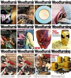 Woodturning - 2018 Full Year Issues Collection