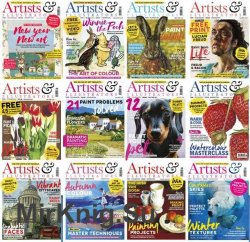 Artists & Illustrators - 2018 Full Year Issues Collection