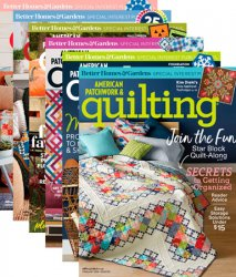 American Patchwork & Quilting – 2018 Full Year Issues Collection