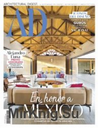 Architectural Digest Mexico - Enero 2019