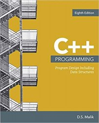 C++ Programming: Program Design Including Data Structures, 8th Edition