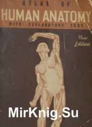 Atlas of HUMAN ANATOMY with explanatory text (1942)