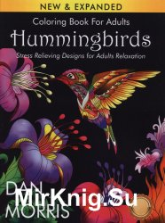 Hummingbirds Coloring Book for Adults