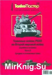 Танковые войска РККА во Второй мировой войне. Средние и огнеметные танки