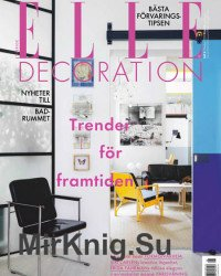 ELLE Decoration Sweden - Oktober 2019
